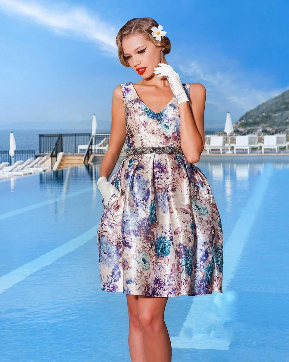 33a4c42d244b Atelier Tsourani » Φορεματα Cocktail σε εντυπωσιακα χρωματα ...